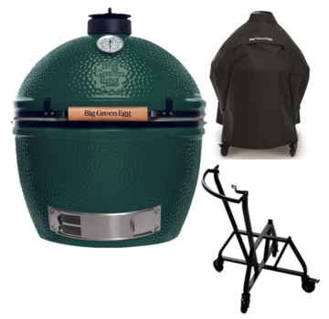 Big Green Egg Big Green Egg XLarge + Integgrated Nest + Handler + Cover