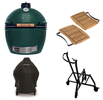 Big Green Egg Big Green Egg XLarge + Integgrated Nest + Handler + Mates  + Cover