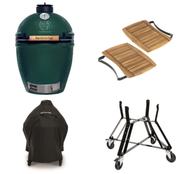 Big Green Egg Big Green Egg Large + Nest + Mates + Cover