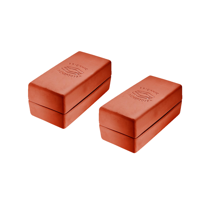 Römertopf Kooksteen Brick Oranje 2 stuks Deal