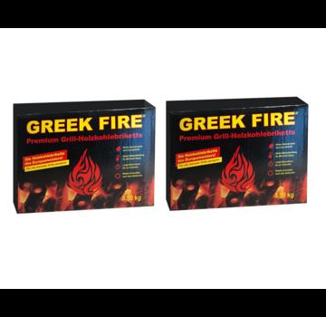Greek Fire Greek Fire Briketten 2 x 3.5 kg Deal (Tubes)