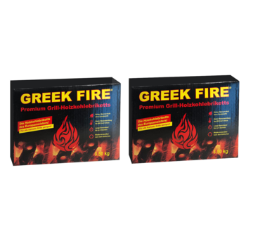 Greek Fire Greek Fire Briquettes 2 x 3.5 kg Deal (Tubes)