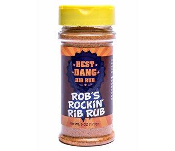 Best Dang Best Dang Rob's Rockin' Rib Rub 6 oz