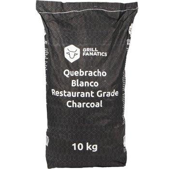 Grill Fanatics Grill Fanatics White Quebracho Restaurant Grade Lump Charcoal 10 kg