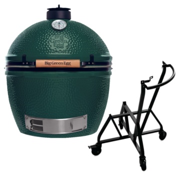 Big Green Egg Big Green Egg XLarge + Integgrated Nest + Handler