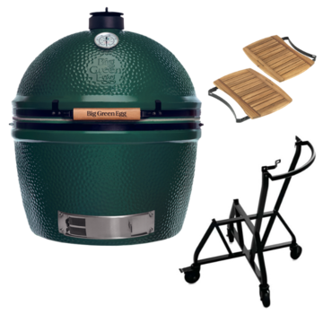Big Green Egg Big Green Egg XLarge + Integgrated Nest + Handler + Mates