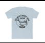 Clark Crew The West Heren BBQ T-Shirt Solid Light Blue