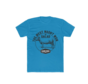 Clark Crew The West Heren BBQ T-Shirt Solid Turquoise