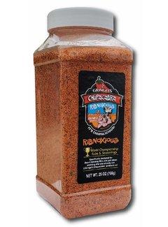 Chupacabra 2 Gringos Chupacabra Ribnoxious BBQ Rub 25 oz