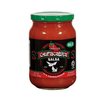 Chupacabra 2 GringosChupacabra Salsa Mild 16 oz