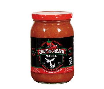 Chupacabra 2 GringosChupacabra Salsa Medium 16 oz