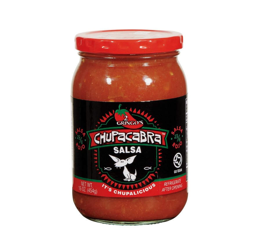 2 GringosChupacabra Salsa Medium 16 oz