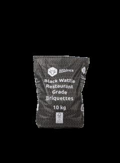 Grill Fanatics Grill Fanatics Black Wattle Restaurant Grade Briquettes 10 kg