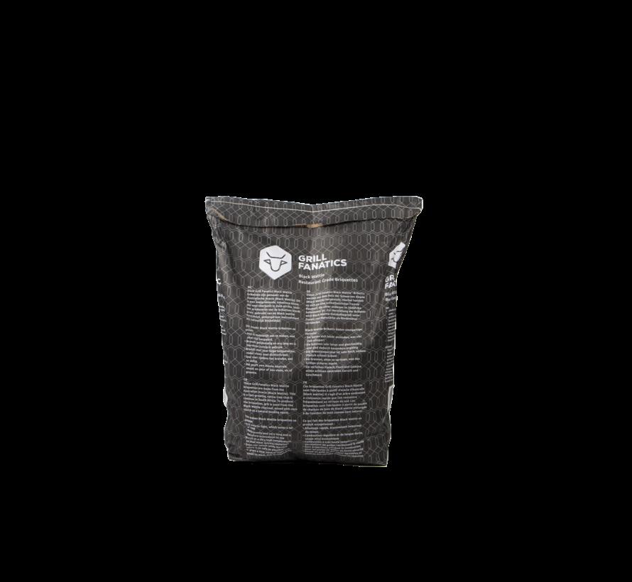 Grill Fanatics Black Wattle Restaurant Grade Briquettes / Firestarters Deal 10 kg