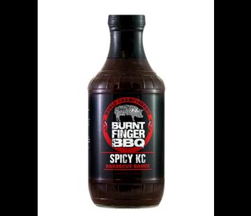 Burnt Finger BBQ Burnt Finger BBQ Spicy KC Barbecue Sauce 19.2 oz