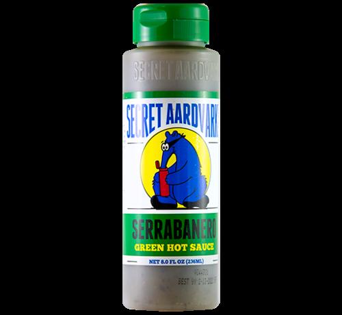 Secret Aardvark Secret Aardvark Serrabanero Green Hot Sauce 8 oz