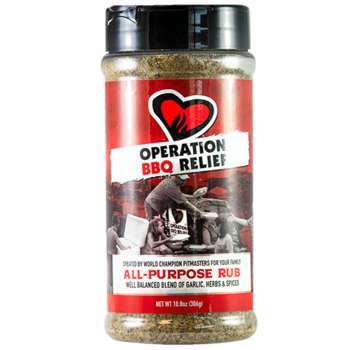 Operation BBQ Operation BBQ Relief All Purpose Rub 10.9 oz