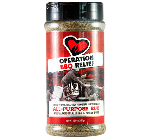 Operation BBQ Operation BBQ Relief All Purpose Rub 10.9 oz
