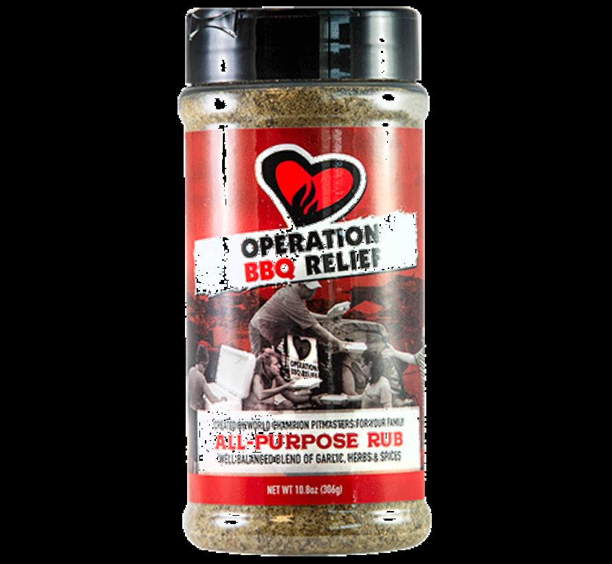 Operation BBQ Relief All Purpose Rub 10.9 oz