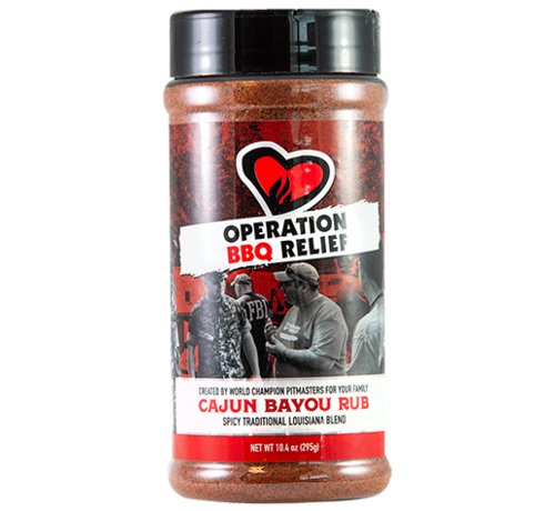 Operation BBQ Operation BBQ Relief Cajun Bayou Rub 10.4 oz