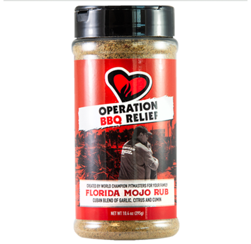 Operation BBQ Operation BBQ Relief Florida Mojo Rub 10.4 oz