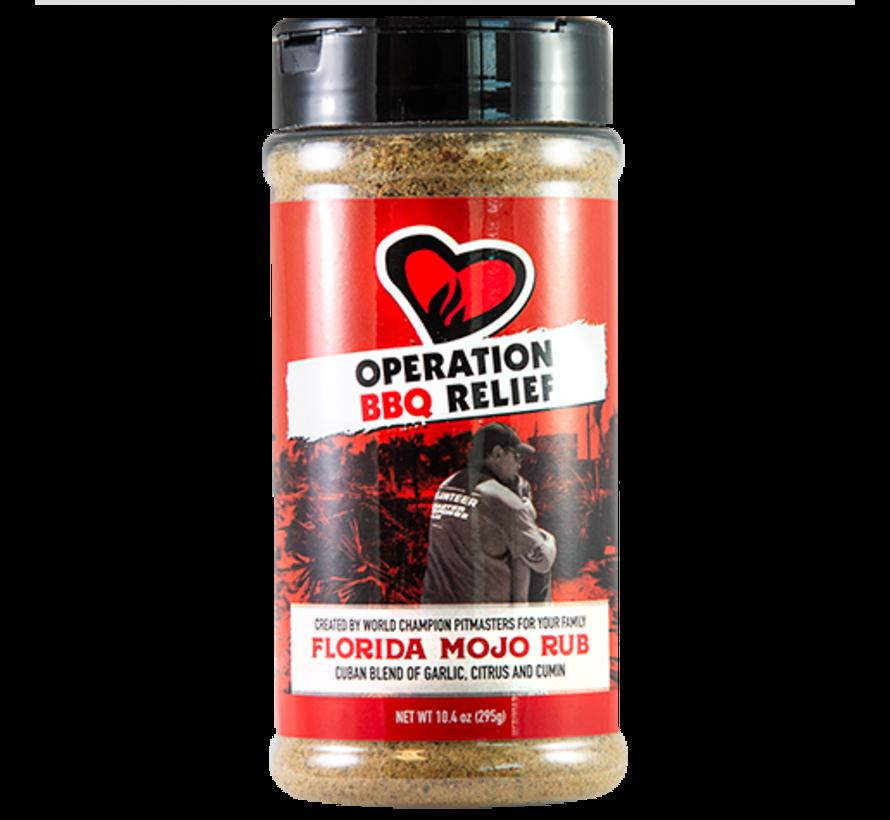 Operation BBQ Relief Florida Mojo Rub 10.4 oz