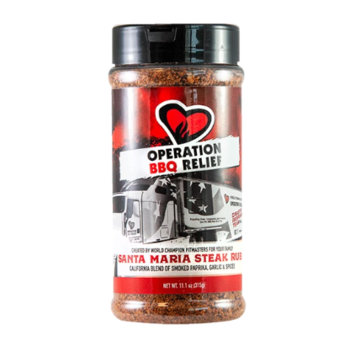 Operation BBQ Operation BBQ Relief Santa Maria Steak Rub 11.1 oz