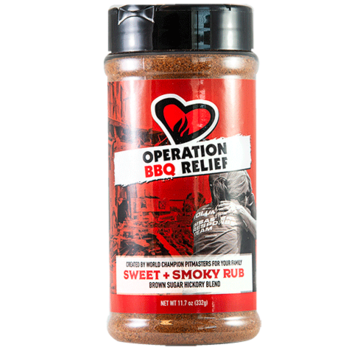 Operation BBQ Operation BBQ Relief Sweet and Smoky Rub 11.7 oz