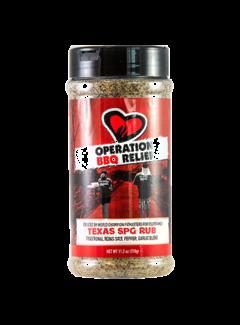 Operation BBQ Operation BBQ Relief Texas SPG Rub 11.2 oz