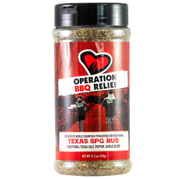 Operation BBQ Operation BBQ Relief Texas SPG Rub 11.2 oz