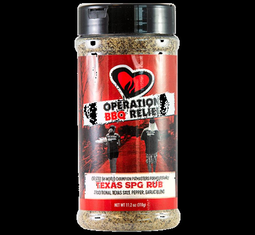 Operation BBQ Relief Texas SPG Rub 11.2 oz