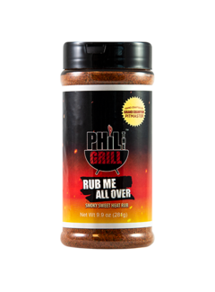 Phil the gril Phil The Grill Rub Me All Over 9.9 oz