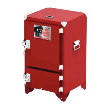 Sweet Swine Weekenddeal: Red Box Smoker (Reverse Flow Competition Smoker)