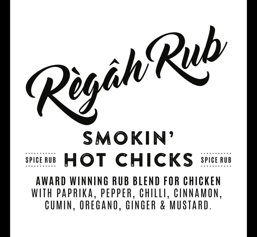 Regah Rub Award Winning Smokin' Hot Chicks 300 gram