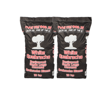 Vuur&Rook Vuur&Rook White Quebracho Restaurant Grade Lump Charcoal Deal 20 kg