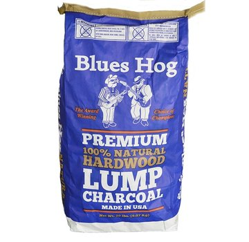 Blues Hog Blues Hog Lump Charcoal Hickory/Eik 8 kg