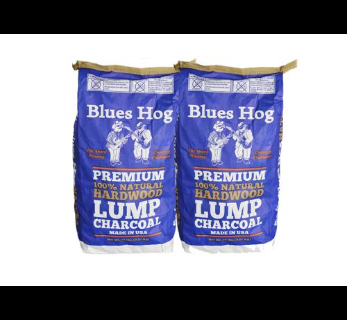 Blues Hog Blues Hog Lump Charcoal Hickory/Eik 2 x 8 kg Deal