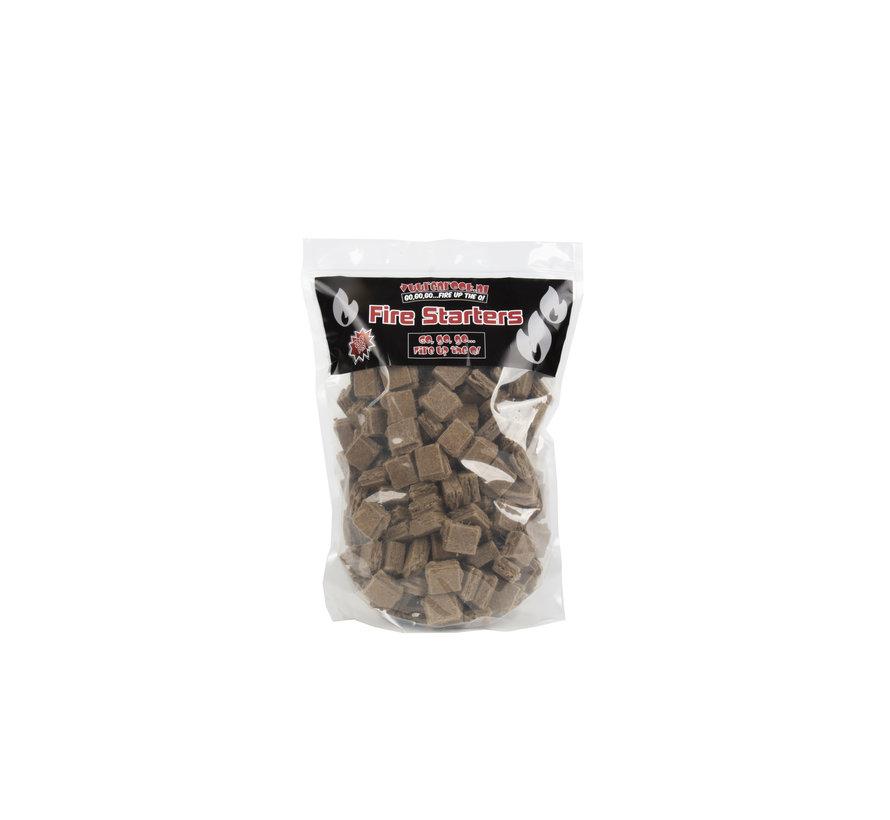 Peko / Fire Up Horeca Acacia Zuid Afrika Black Wattle Houtskool / Aanmaakblokjes Deal 4 kg