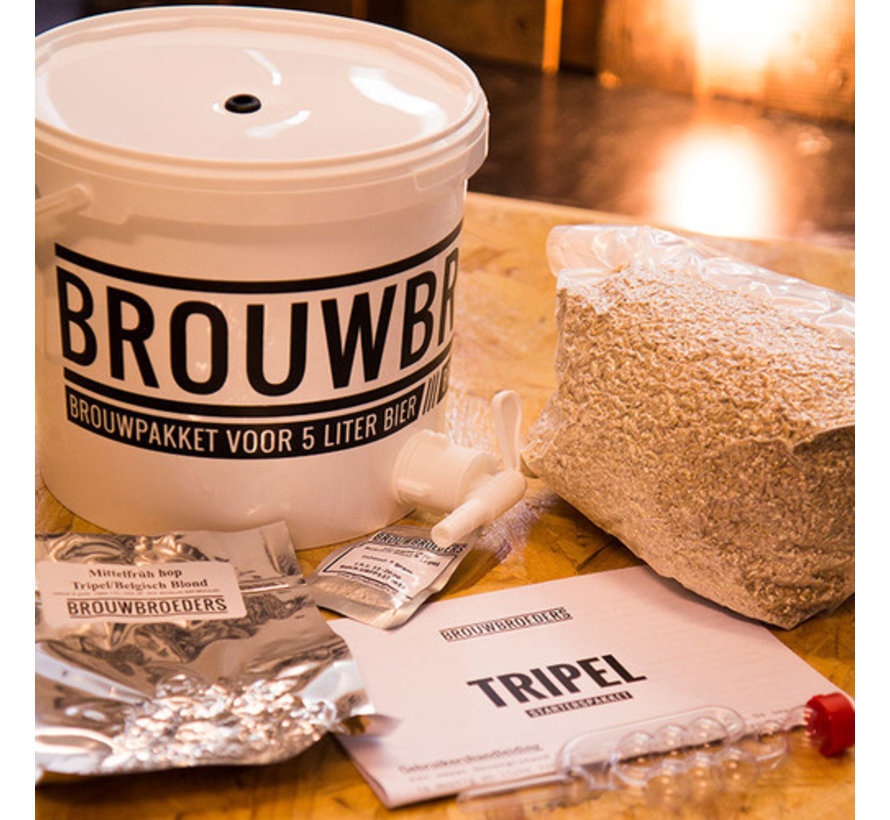 Brouwbroeders Starterspakket Belgisch Blond