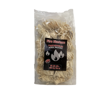 Vuur&Rook Vuur&Rook Fire Starters / Wokkels Circa 25 stuks / 325 gram