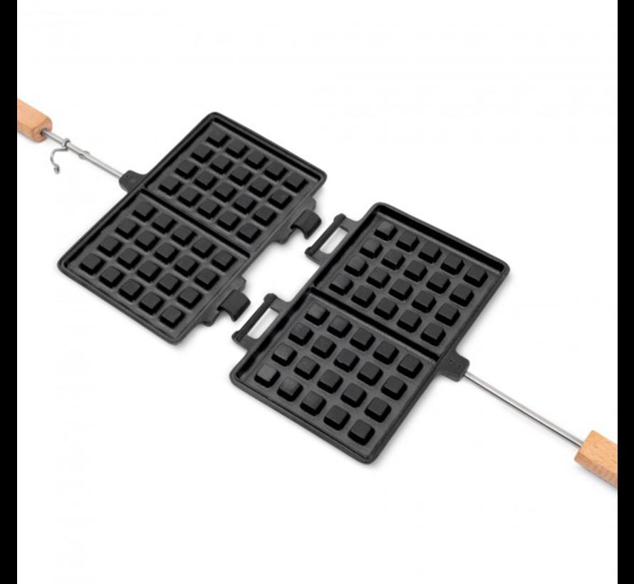 Petromax Double Waffle Iron Long