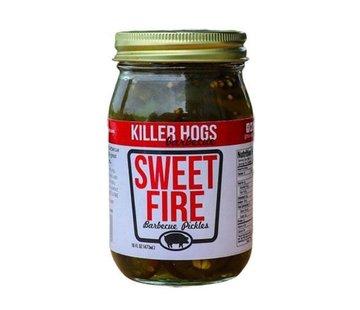 Killer Hogs Killer Hogs Sweet Fire Pickles (Spicy) 16 oz