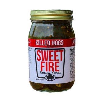 Killer Hogs Killer Hogs Sweet Fire Pickles (scharf) 16 oz