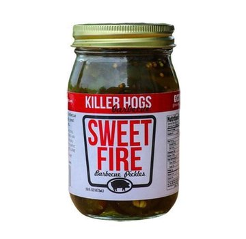 Killer Hogs Killer Hogs Sweet Fire Pickles (Spicy) 16 oz