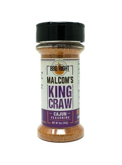 How To BBQ Right Malcom's King Craw Cajun Seasoning  5 oz