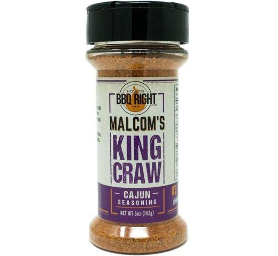 Malcom's King Craw Cajun Seasoning  5 oz