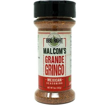 How To BBQ Right Malcom's Grande Gringo Mexican Seasoning 5 oz