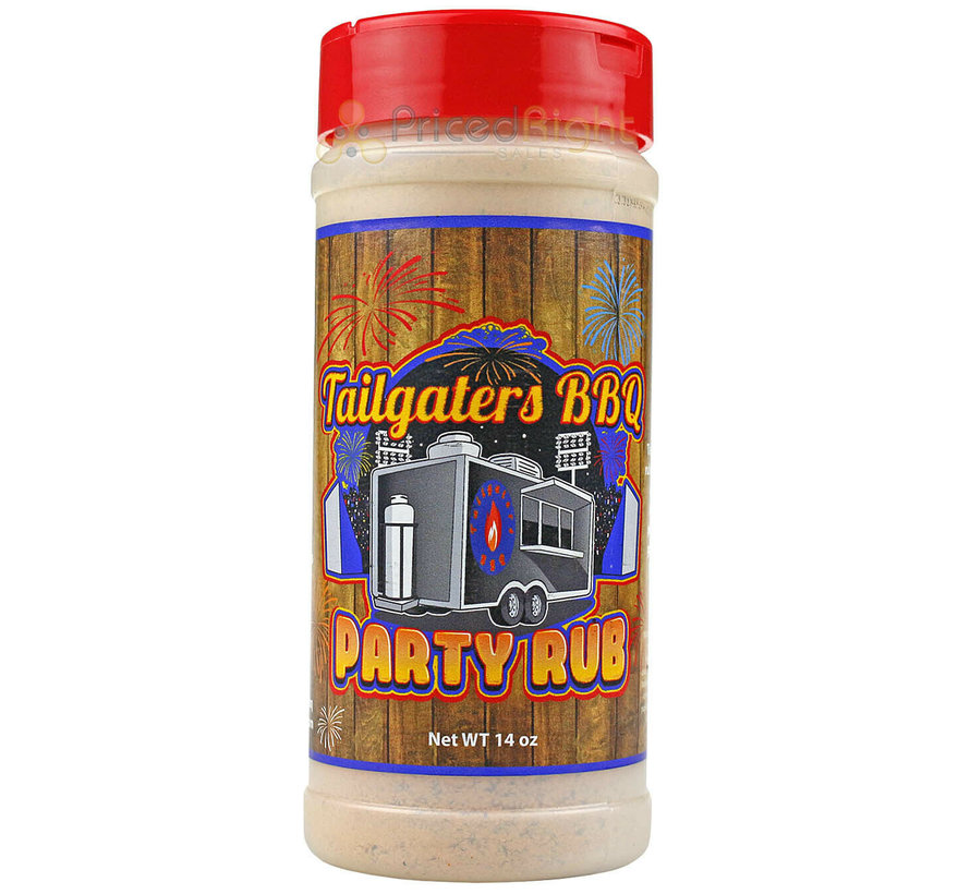 SuckleBusters Tailgaters BBQ Party Seasoning 12 oz