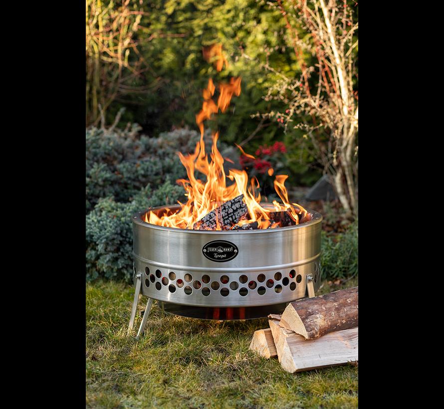 Feuerhand by Petromax Tyropit Vuurschaal