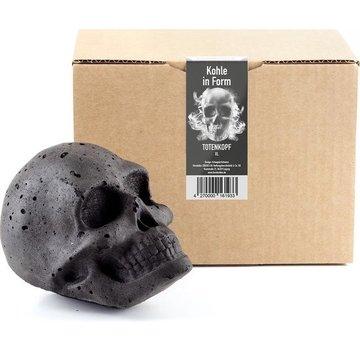 Fomkohlen Skull Briquette XL